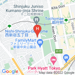 Map THE KNOT TOKYO SHINJUKU