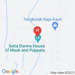 Map MAYA UBUD RESORT & SPA