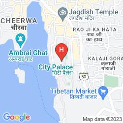 Map SHIV NIWAS PALACE