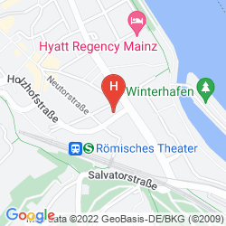 Map IBIS MAINZ CITY