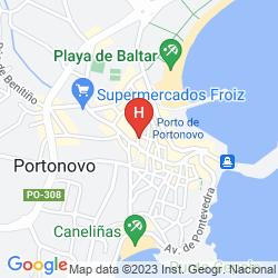 Map HOTEL OCA SPA GALATEA
