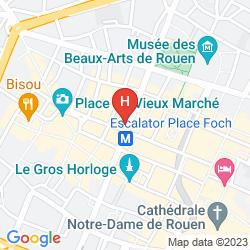 Map SORETEL