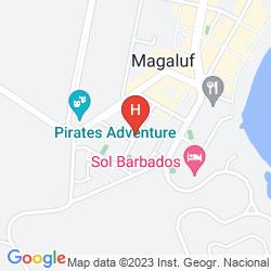Map APARTHOTEL HM MARTINIQUE