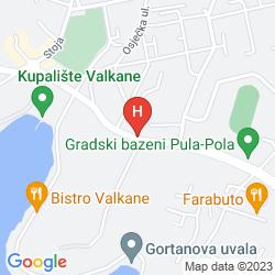 Map PARK PLAZA VERUDELA