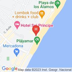 Map MELIA COSTA DEL SOL