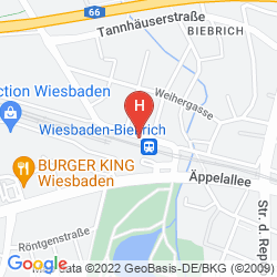 Map MERCURE HOTEL WIESBADEN CITY