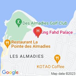 Map LE MERIDIEN PRESIDENT