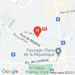 Map LA PRINCESSE