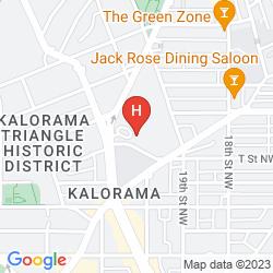 Map WASHINGTON HILTON