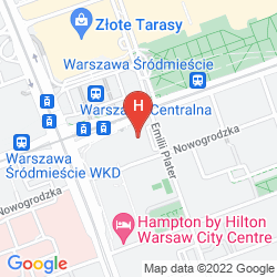 Map WARSAW MARRIOTT