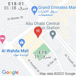 Map GRAND MILLENNIUM AL WAHDA