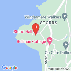 Map STORRS HALL