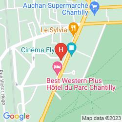 Map BEST WESTERN DU PARC