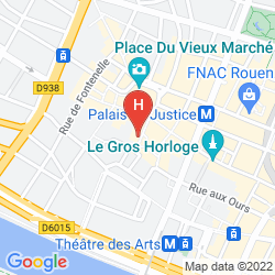 Map DE BOURGTHEROULDE, AUTOGRAPH COLLECTION