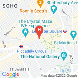Map W LONDON - LEICESTER SQUARE