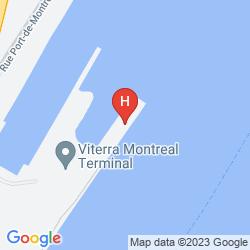 Map SANDMAN HOTEL MONTREAL - LONGUEUIL