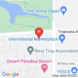 Map DESERT PARADISE RESORT