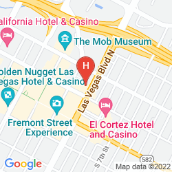 Map GOLD SPIKE HOTEL & CASINO