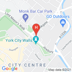 Map DOUBLETREE BY HILTON YORK
