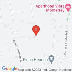 Map APARTHOTEL MONTERREY