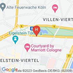 Map HOTEL EINIG