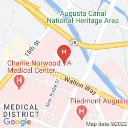 Map QUALITY INN MEDICAL CENTER AREA