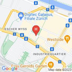 Map IBIS CITY WEST