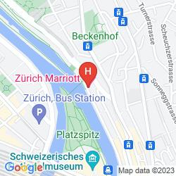 Map ZURICH MARRIOTT