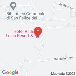 Map VILLA LUISA RESORT & SPA