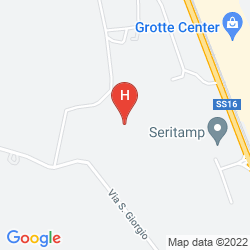 Map HOTEL CRISTOFORO COLOMBO