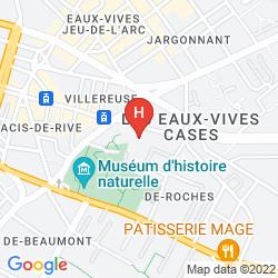 Map HÔTEL PAX