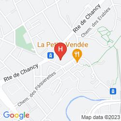 Map IBIS GENÈVE PETIT LANCY