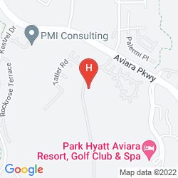 Map PARK HYATT AVIARA