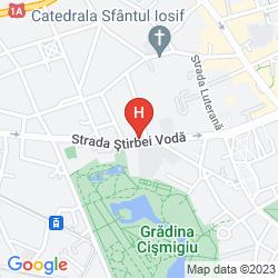 Map EPOQUE HOTEL - RELAIS & CHATEAUX