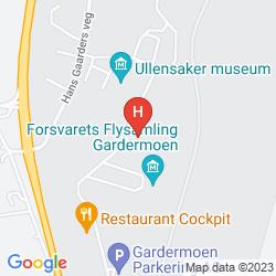 Map GARDERMOEN AIRPORT MOTELL & GUESTHOUSE
