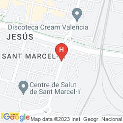 Map APARTAMENTO URBEM SUITES SAN VICENTE