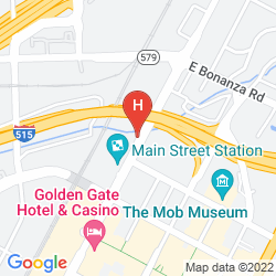 Map MAIN STREET STATION HOTEL, CASINO AND BREWERY