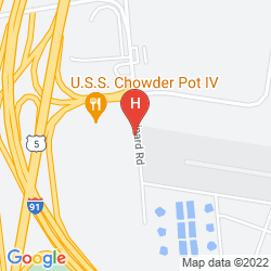 Map BEST WESTERN HARTFORD HOTEL & SUITES