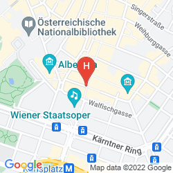 Map AUSTRIA TREND HOTEL ASTORIA