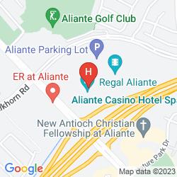 Map ALIANTE CASINO + HOTEL + SPA