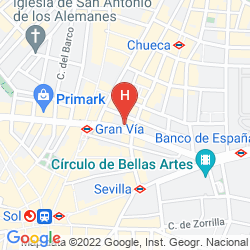 Map HOSTAL ALMANZOR