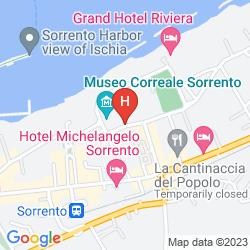Map RELAIS CORREALE ROOMS & GARDEN