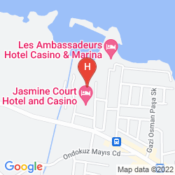 Map JASMINE COURT HOTEL & CASINO