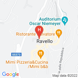 Map IL DUCATO DI RAVELLO