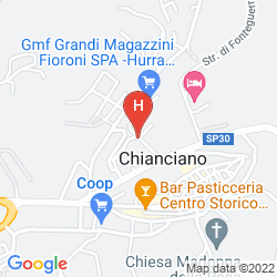 Map HOTEL VILLA RICCI