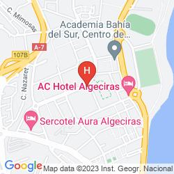 Map MERCURE ALGECIRAS