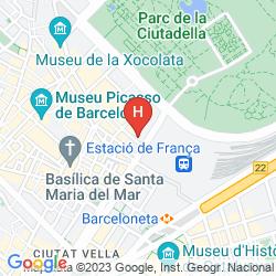 Map PENSION CIUDADELA