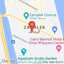 Map HORUS HOUSE HOTEL ZAMALEK