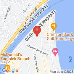 Map NEW PRESIDENT HOTEL ZAMALEK