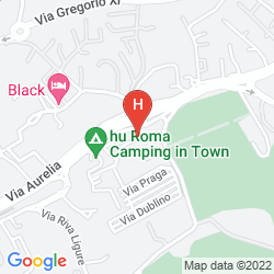 Map CAMPING VILLAGE ROMA